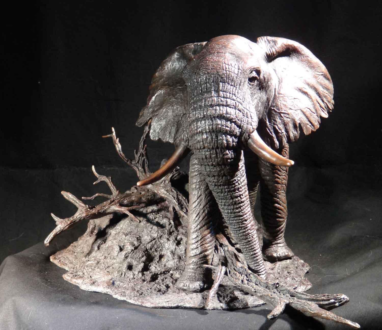 bronze, elephant