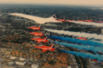 concorde, red arrows, london