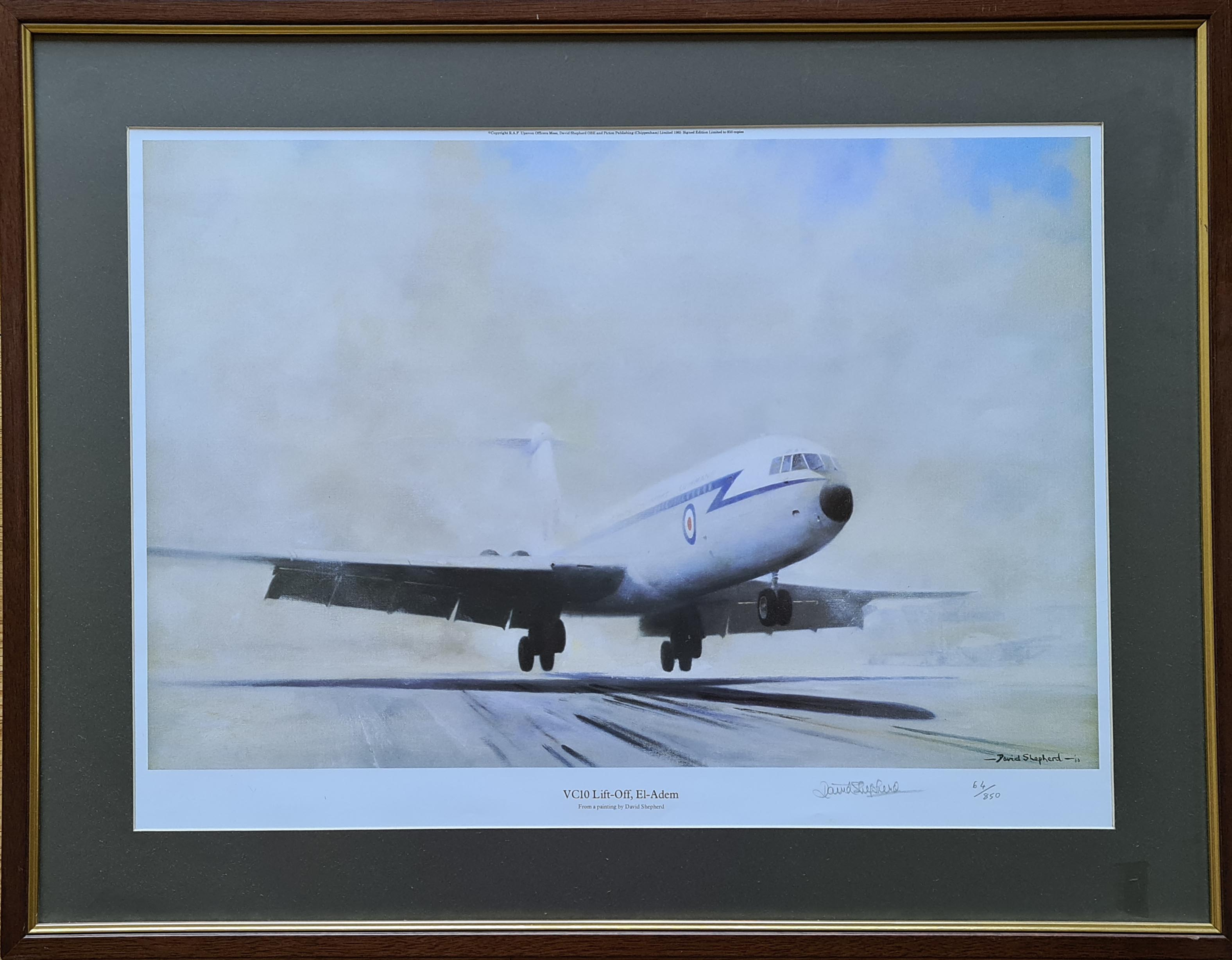shepherd, VC10, El-Adem, aviation, framed