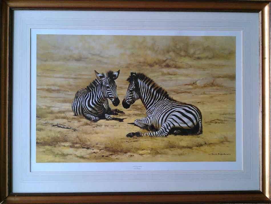 african children zebra