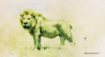 david shepherd big five lion print