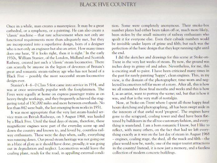 david shepherd black five country text