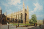 david shepherd, Cambridge, king's parade, prints