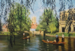 david shepherd, Cambridge, ther backs, prints