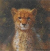 david shepherd cheetah cub cameo print