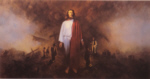david shepherd, war, Christ in the Battlefield, military, army