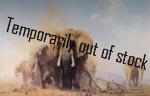 david shepherd elephants at Tsavo, elephants, signed, limited edition, print