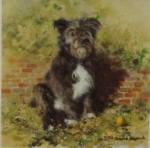 david shepherd haggis of Battersea dogs prints