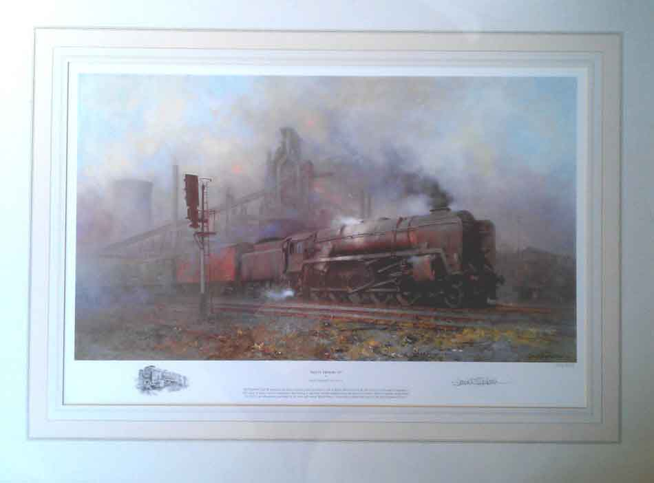 david shepherd, Heavy Freight, railway