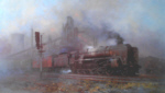 david shepherd heavy freight, steam trains