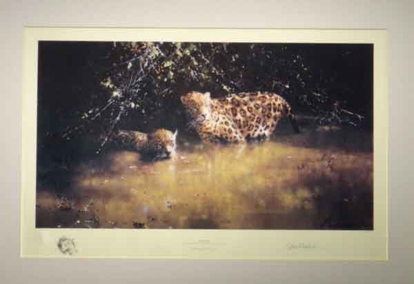 david shepherd jaguars prints