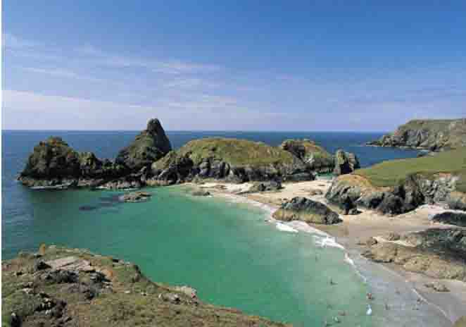 david shepherd, Kynance Cove, Cornwall, England, photo