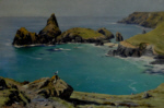 david shepherd kynance cove cornwall