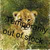 david shepherd lion cub cameo print
