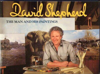 david shepherd, the man and his paintings, book