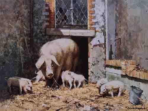 david shepherd mrs p and the kids