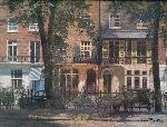 david shepherd original painting Brompton square London large
