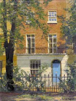 David Shepherd, originals painting, brompton square, London