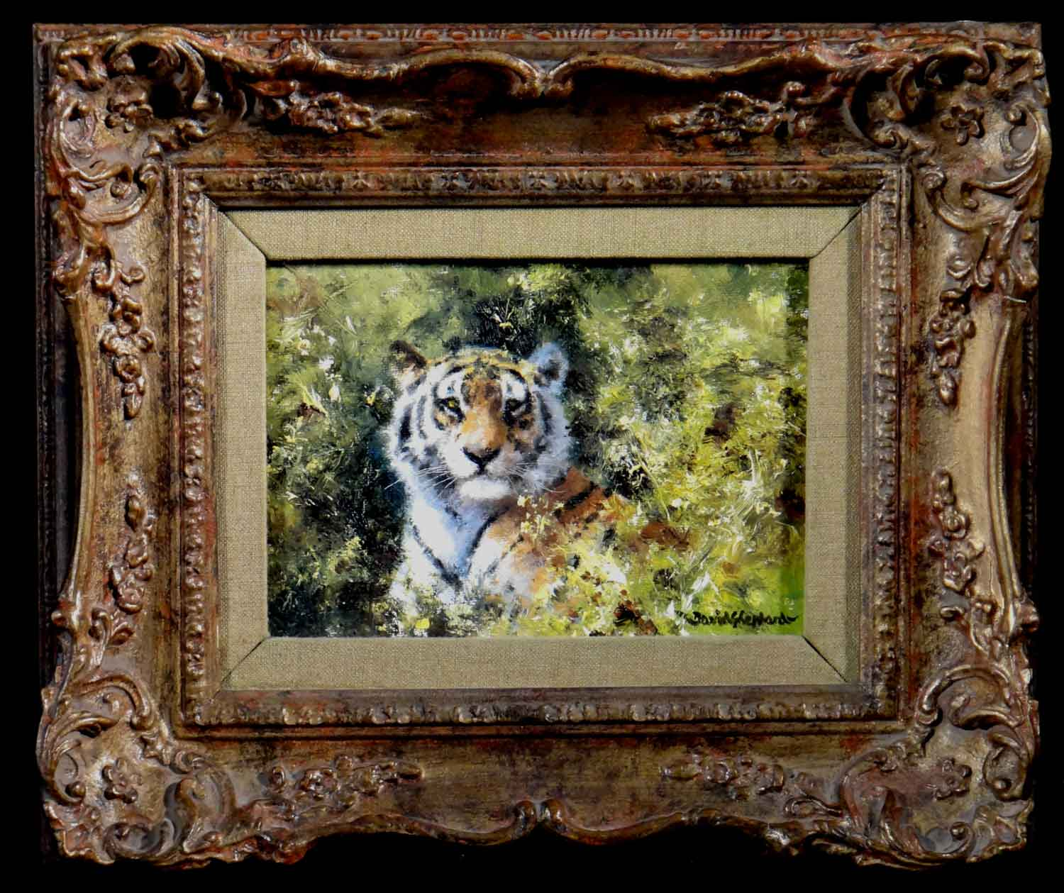 david shepherd original, Tiger