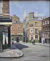 david shepherd, paintings, shepherd street