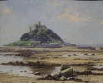 david shepherd original painting St. Michael's Mount Cornwall