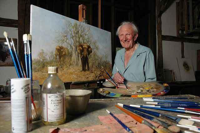 david shepherd, studio, photo