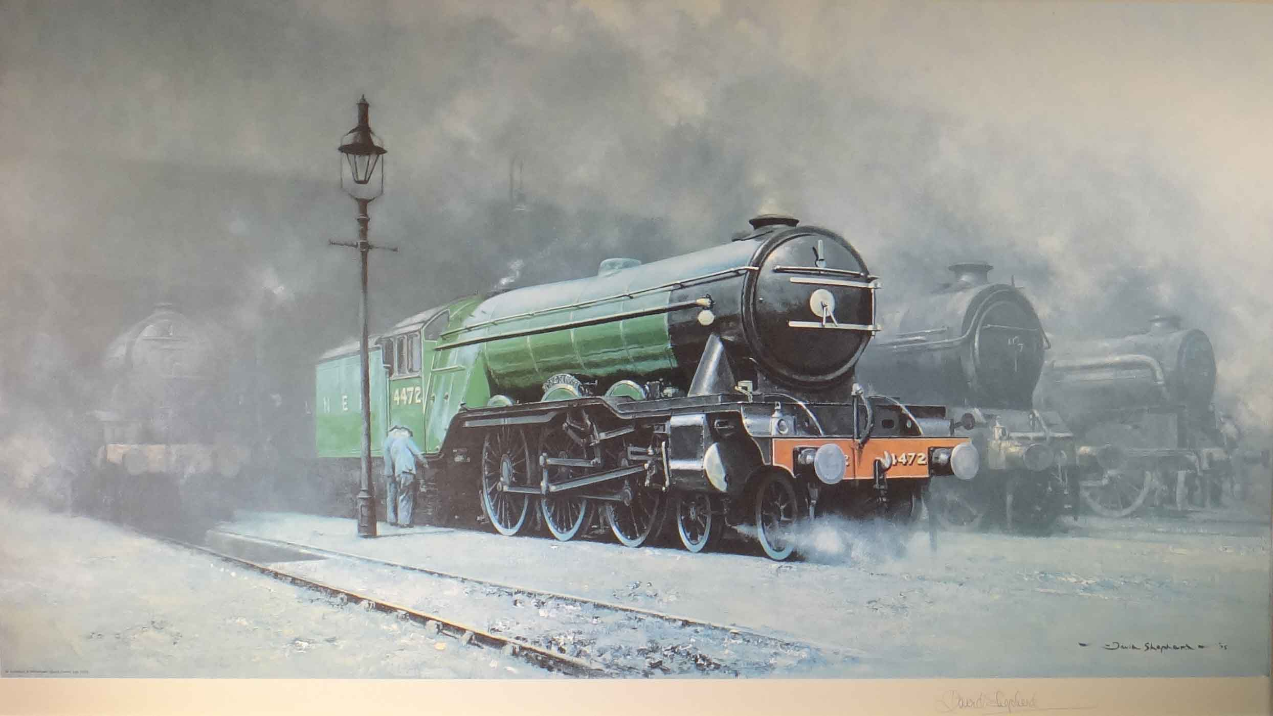 David Shepherd Scotsman 39 34 Paintings Prints