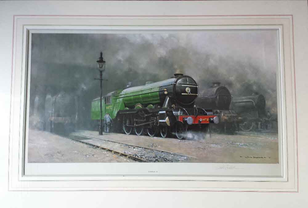 scotsman 34 david shepherd print