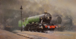 david shepherd scotsman '34, steam trains