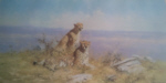 david shepherd serengeti print