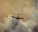 immortal hero spitfire David Shepherd aviation, signed limited edition print