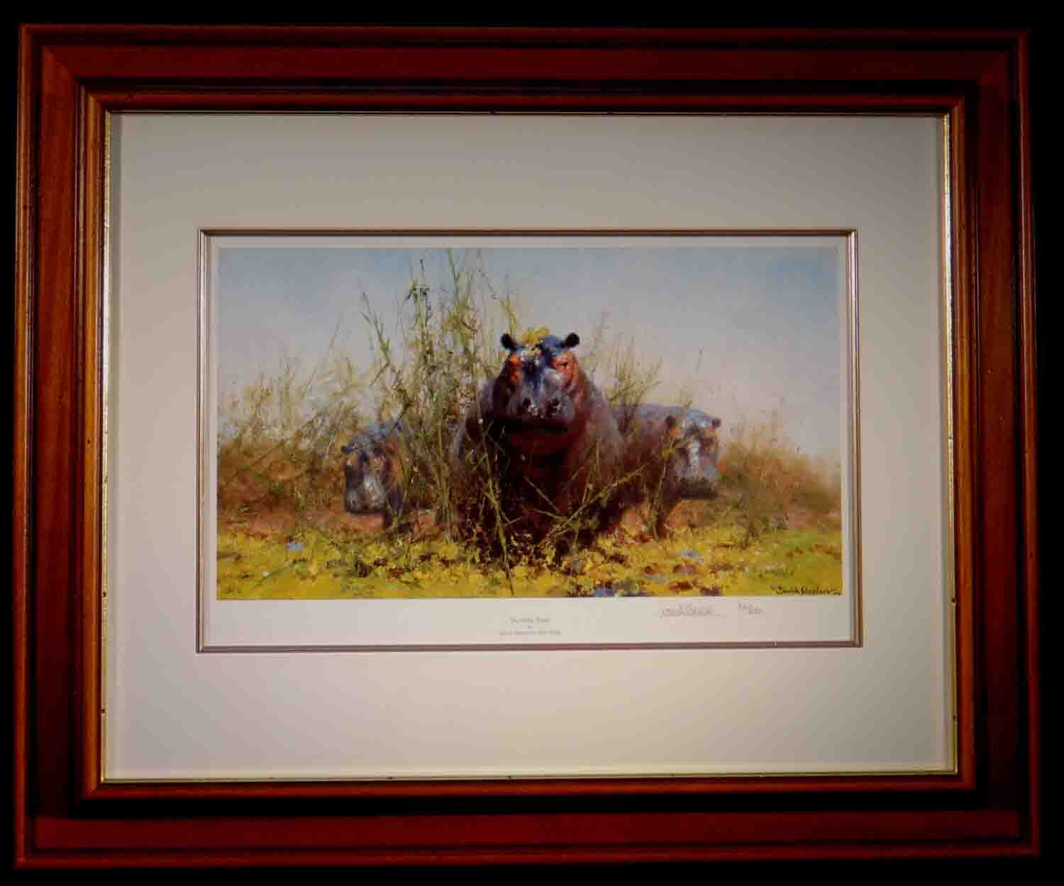 david shepherd, Sunday Best, signed limited edition print