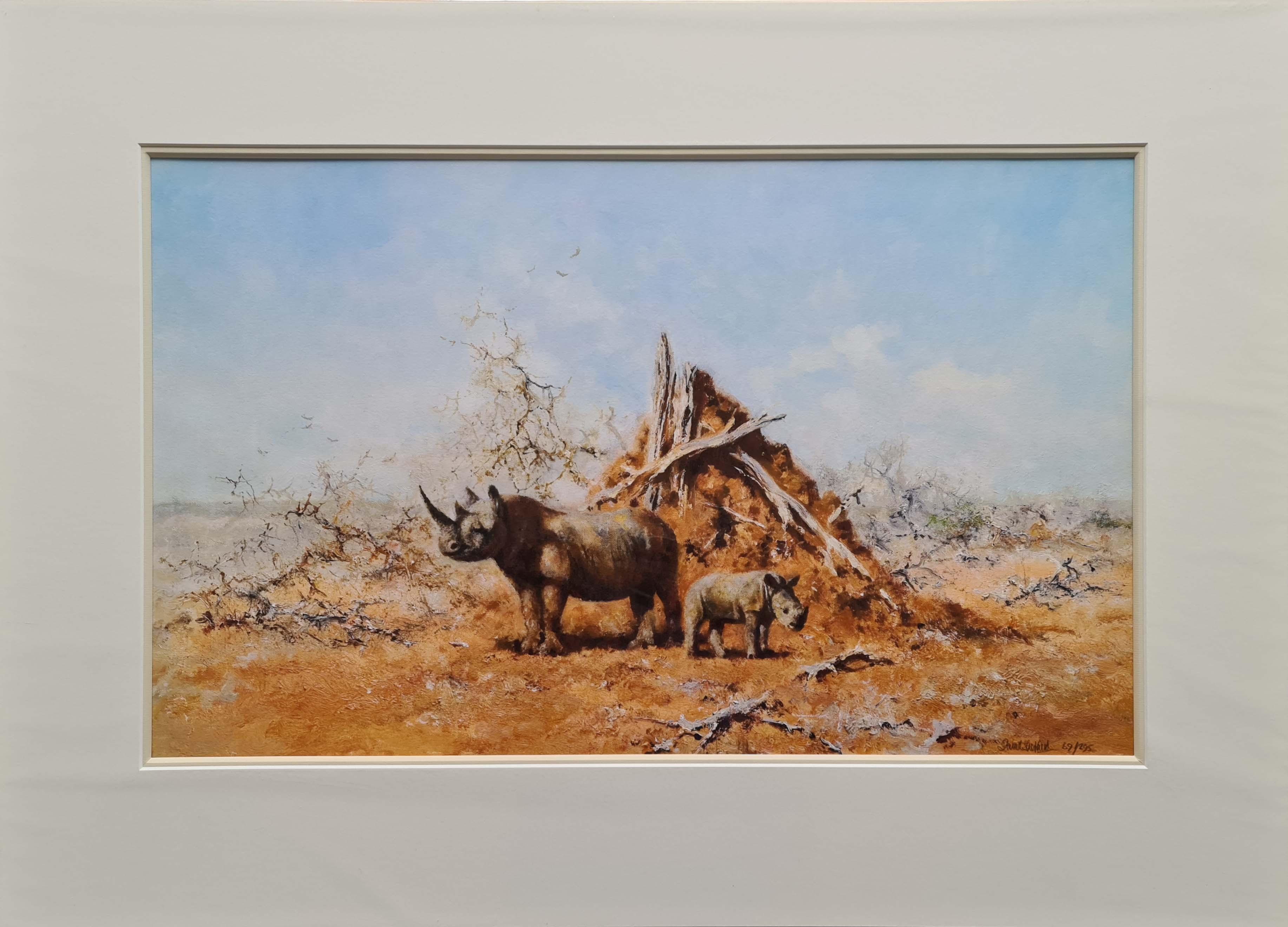 tsavo rhino david shepherd