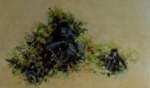 david shepherd Mountain gorilla print