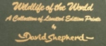 david shepherd wildlife of the world prints
