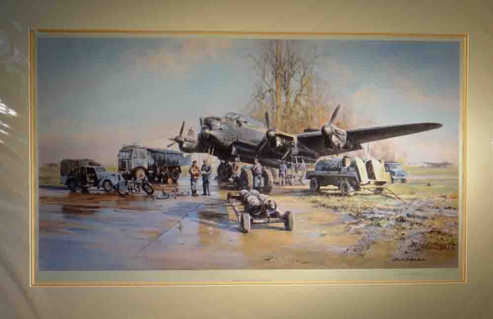 Winter of '43, Lancaster, aviation