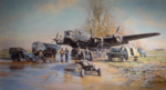Winter of 1943 David Shepherd lancaster aviation print