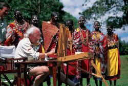 david shepherd in Kenya