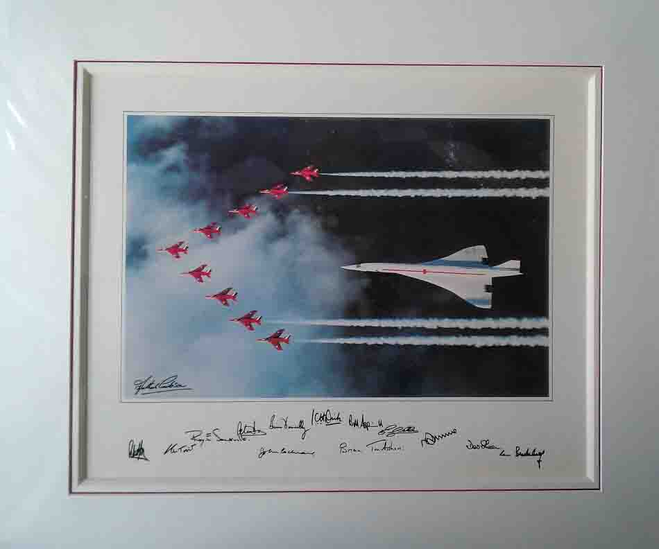 shepherd, red arrows, concorde, aviation