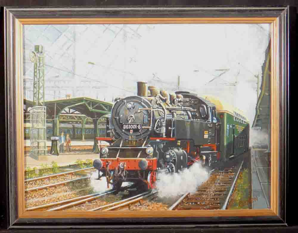 david shepherd original, train